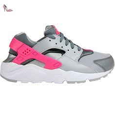 promo code 7e47d 1ad22 Nike Huarache Run (GS), Chaussures de Running Entrainement Fille,  Noir Rose  Amazon.fr  Chaussures et Sacs