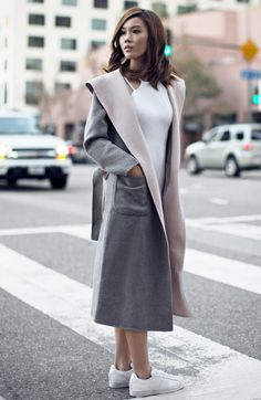 structured-coat-with-sneakers