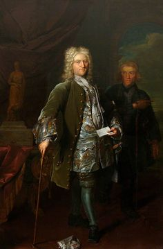 By Herman van der Myn. 18th Century Dress, 18th Century Clothing, 18th Century Fashion, Renaissance Clothing, Renaissance Fashion, Historical Art, Historical Costume, Old Paintings, Baroque Fashion