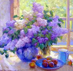 Impressionism oil painting modern canvas art flower paintings wall