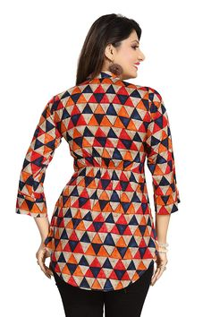 b6215a50b9 ALC Creation Women's Rayon A-Line Kurti: Amazon.in: Clothing & Accessories