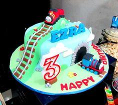 "Photo 1 of 27: Train / Birthday ""Ezra's Thomas the Tank Engine birthday party""   Catch My Party"