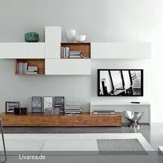 Moderne TV Wohnwände aus umweltfreundlichem Massivholz.