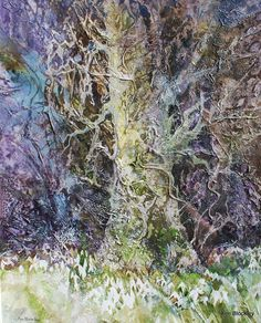 ann blockley | Ann Blockley -Watercolour Artist #tree #art
