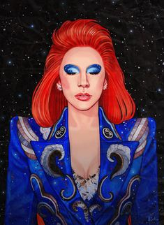 Gaga's Bowie tribute