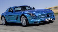 Mercedes SLS EV