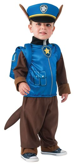 Paw Patrol - Chase Toddler/Child Costume from Buycostumes.com - what Marcus wants to be - and its sold out... :(