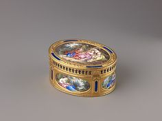 Snuffbox  Jean Marie Tiron (called Tiron de Nanteuil)  (French, active 1748–73, died 1793 (?))  Date: 1764–65