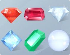 Desktop Crystal Icons by Kunal Ghate, via Behance Game Ui Design, Icon Design, Sprites, Crystal Drawing, Diamond Icon, Game Textures, Digital Texture, Game Gem, Game Props