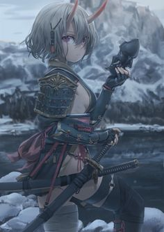thanks for the likes😁🖤🖤😆👍 fanatic art anime credits to the artis Anime Art, Fantasy Characters, Character Design, Character Art, Anime Scenery, Samurai Art, Art, Anime Characters, Anime Style