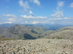 I will be up here Saturday... Last time I did this challenege I promised myself I'd never climb this one again - it was so hard on the body and mentally tough too! Seems like I forget this when I signed up for it again    Scafell Pike in Cumbria, Cumbria