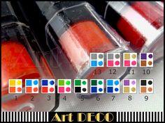 Stempelkissen - * Stempelkissen-Stifte 2 farbig! * Auswahl* - ein Designerstück…