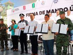 REGISTRA AVANCE MANDO ÚNICO EN MICHOACÁN.