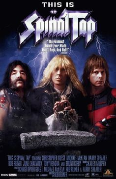 Best Film Posters : Movie poster for This Is Spinal Tap starring Rob Reiner Michael McKean and Chri