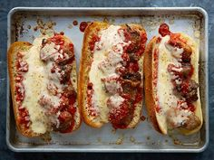 You'd never guess these Parm Heroes inspired by #Chopped were vegetarian! They are THAT GOOD. Brought to you by @Buick.