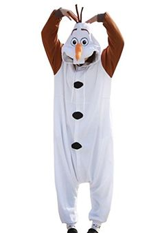 Perfect for my Frozen Party! Disney Frozen Olaf costume for Adults http://halloweenideasforwomen.com/olaf-costume-for-adults/