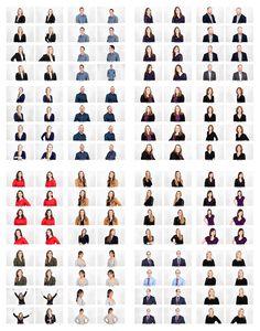 Not So Corporate Headshot Contact Sheet. #headshot #not-so-corporate #photography
