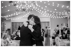 Mother-son dance at Castle Park Reception Center in Lindon by Utah County wedding photographer Brooke Bakken | LDS Bride and Groom | Modest Wedding Dress | Blush | Cream