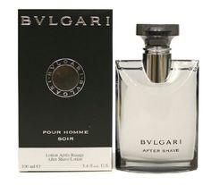 Bvlgari Pour Homme Soir Aftershave Lotion for Men, 3.4 Ounce -- For more information, visit image link.