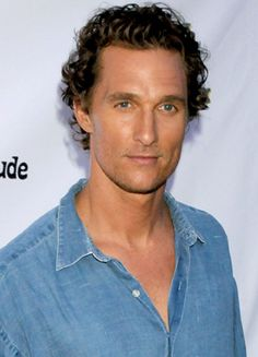 Matthew McConaughey. I'm kind of perpetually repulsed and not in a romantic comedy, we'll get together at the end kind of way.