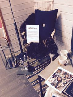 Display at work interiør whinterstyle in norway . With some industrial interior :)
