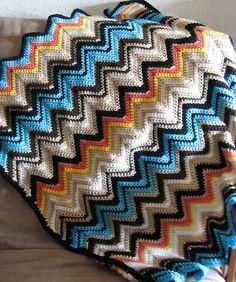 Zig zag ripple blankets - Bing Images