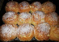 Túróval töltött zsemle | Pádár Melinda receptje - Cookpad receptek Pretzel Bites, Hamburger, Grilling, Sweet Treats, Muffin, Bread, Cookies, Breakfast, Cake