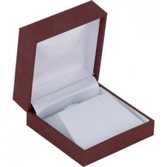 Burgundy Linden Collection Pendant or Earring Box-ST61-9454:100001:T