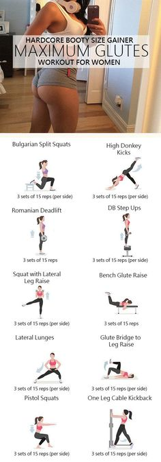 Maximum Glutes: You'll Not Believe the Booty Size Gains from this Workout.But They're Real – The post Maximum Glutes: You'll Not Believe the Booty Size Gains from this Workout.But They're Real appeared first on Best Pins for Yours. Fitness Workouts, Fitness Motivation, At Home Workouts, Workout Routines, Gym Glute Workout, Teen Workout, Leg Butt Workout, Squats Fitness, Exercise Workouts