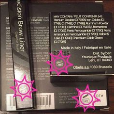 Not sure how long your makeup lasts!?  Younique has you covered, just look at the back of the box and you'll see the expiration date!!