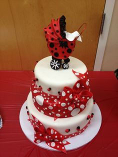 - Ladybug themed baby shower done for my future sis-n-law