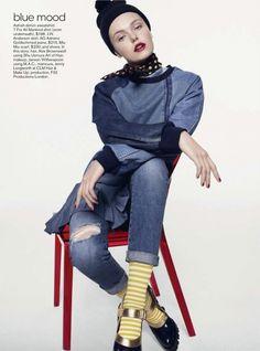 awesome Teen Vogue Agosto 2013 | Anastasia Milli e Nana Strand por Scott Trindle   [Editorial]