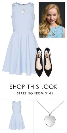 """Dove Cameron"" by hannahmcpherson12 ❤ liked on Polyvore featuring Ted Baker, Blue Nile and Forever 21"