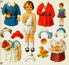 Soloillustratori: Bambole di carta 3