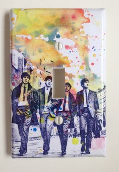 The Beatles Decorative Light Switch Plate Cover by idillard