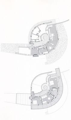 Lois Welzenbacher, Haus Heyrovsky, Thumersbach bei Zell am See, Pop Design, Design Lab, Architecture Concept Drawings, Concept Architecture, Architecture Design, Zell Am See, Kindergarten Design, Architectural House Plans, Bridge Design