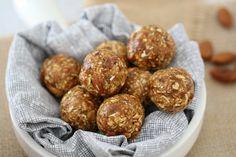 Nutty Date & Oat Energy Balls