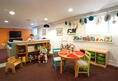 Basement Renovations for Kids Room Ideas