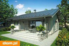 DOM.PL™ - Projekt domu AT Neo CE - DOM AT9-09 - gotowy koszt budowy