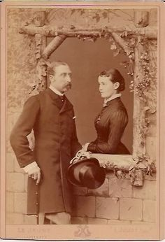 Prince Arthur and his wife, Louise of Prussia