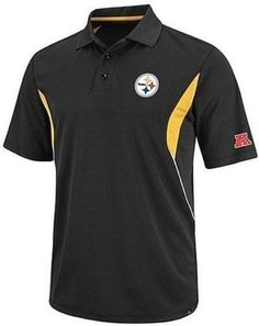 Pittsburgh Steelers NFL Team Apprel Field Classic Polo Shirt Big and Tall Sizes