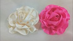 110) Tutorial Aplikasi Bunga Pita || Ribbon Flower