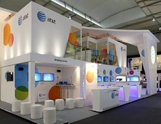25 Eye Catching Trade Show Stands #exhibit #eventprofs #design