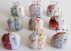 Lovely! ~ Ellie Evans pin cushions