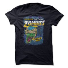 Zombies Everywhere!Zombies, halloween, comic style, apocalypse, horror, scary, brains, haunted, tshirtZombies, halloween, comic style, apocalypse, horror, scary, brains, haunted, tshirt