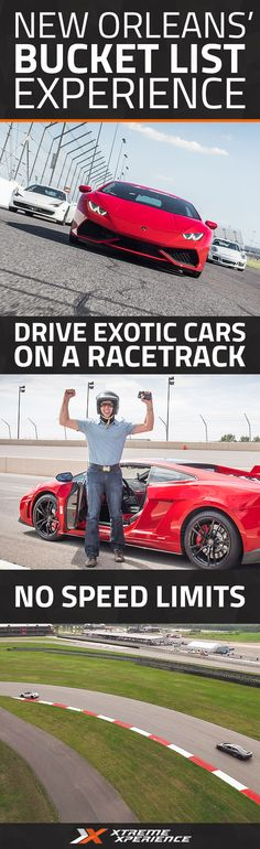 Xtreme Xperience brings you and your friends the thrill of a lifetime at NOLA Motorsports Park, just 30 minutes from the French Quarter. Reserve your Supercar Xperience today for as low as $99. Each Xperience includes a classroom session, pro instruction, discovery laps, and as many as 9 laps of driving.