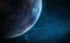 Download wallpapers planet, 4k, solar system, galaxy, planets, universe, sci-fi