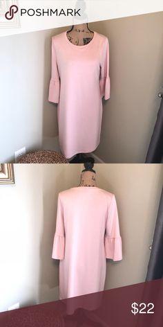da338d76dc8 A.N.A Pink Quartz pullover Bell sleeve dress A.N.A Pink Quartz pullover  Bell Sleeve dress👗 size