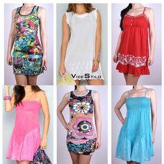Vestidos para tus días de playa a precios increibles!! www.vicestilo.com