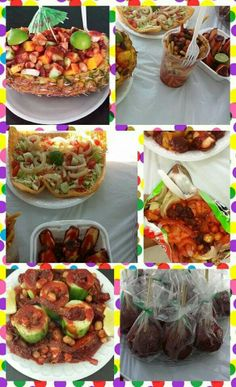 Mexican snacks yumm Mexican Candy Table, Mexican Snacks, Mexican Party, Mexican Food Recipes, Snack Recipes, Ethnic Recipes, Mexican Street Food, Kung Pao Chicken, Summer Recipes